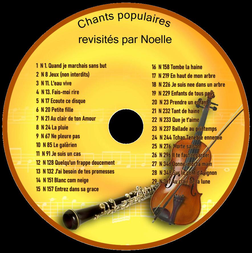 Album 2: Chants populaires revisités par Noelle