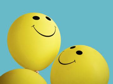 Ballons smiley contents